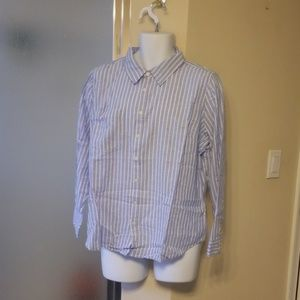 Denim &Company Button up Shirt